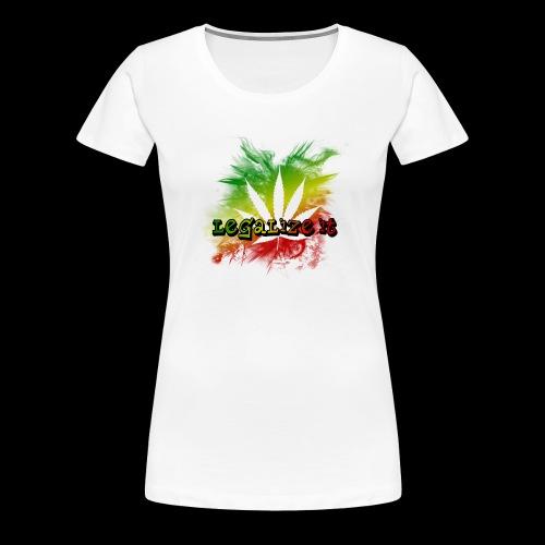 Legalize it - Frauen Premium T-Shirt