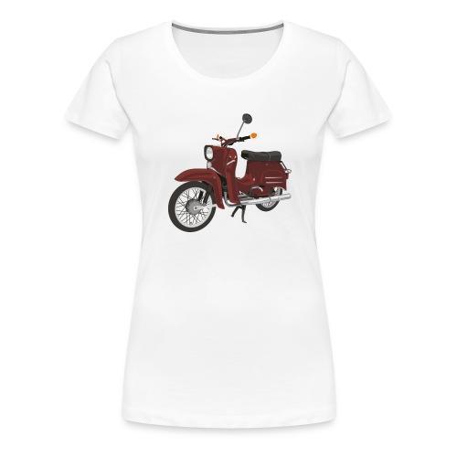Simson Schwalbe - Frauen Premium T-Shirt