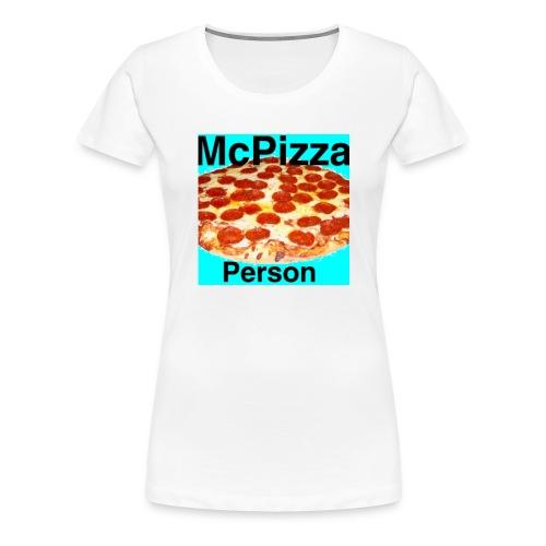 Old McPizzaPerson Logo - Women's Premium T-Shirt