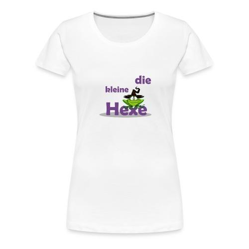 Baby Bio-Langarm-Body Kleine Hexe Wunschname - Frauen Premium T-Shirt