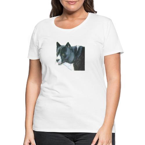 karelian beardog - Dame premium T-shirt