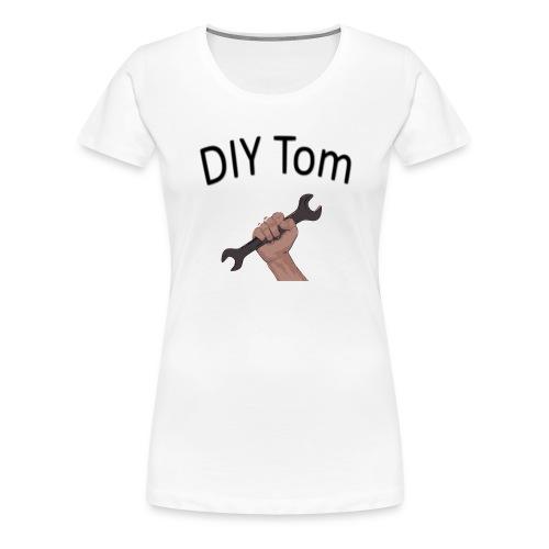 DIY Grafik mit Schrift - Frauen Premium T-Shirt