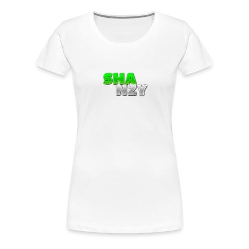 SHANZYDZngrn png - Women's Premium T-Shirt