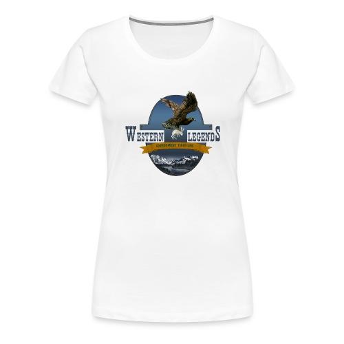 Western Legends- l'aigle - T-shirt Premium Femme
