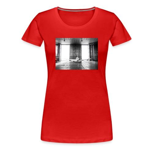 Beech in the hangar - Women's Premium T-Shirt