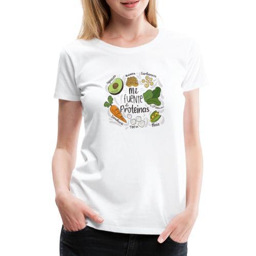 Mi fuente de proteinas - Camiseta premium mujer