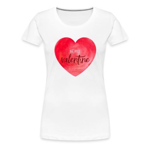 Cœur st.valentin - T-shirt Premium Femme