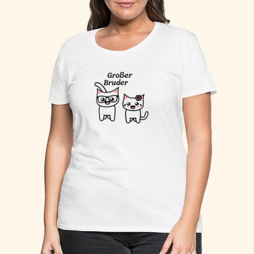 Großer Bruder - Frauen Premium T-Shirt