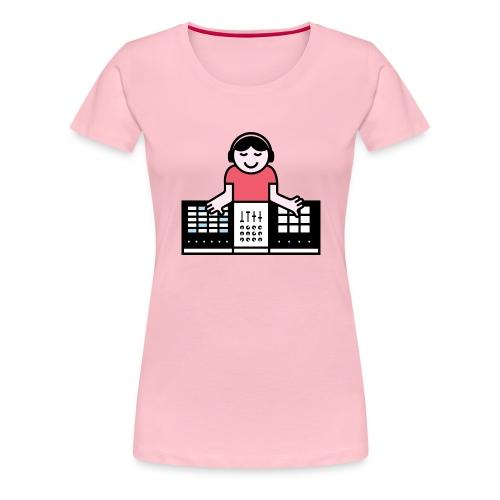 Ableto DJ - Vrouwen Premium T-shirt
