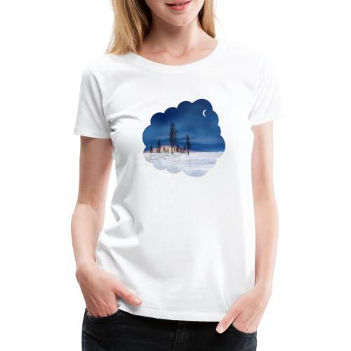 Poolnacht Lapland - T-shirt Premium Femme