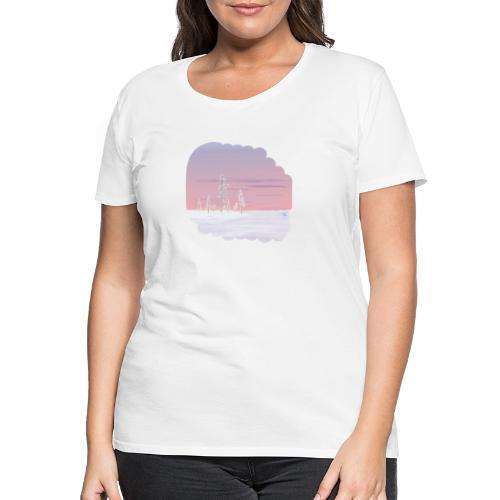 Un printemps précoce - T-shirt Premium Femme