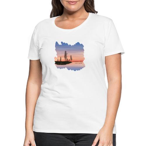 Été en Laponie - T-shirt Premium Femme