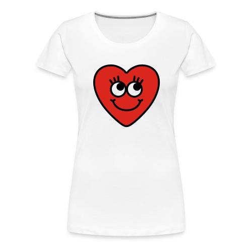 love hart - Vrouwen Premium T-shirt