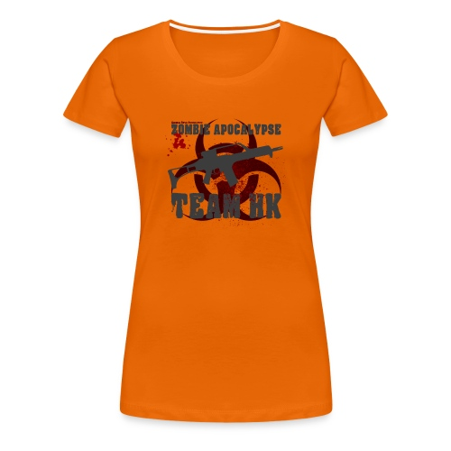 Zombie Apocalypse Team H&K - Frauen Premium T-Shirt