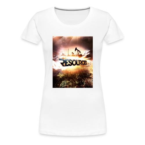 RESOURCES Splash Screen - Frauen Premium T-Shirt