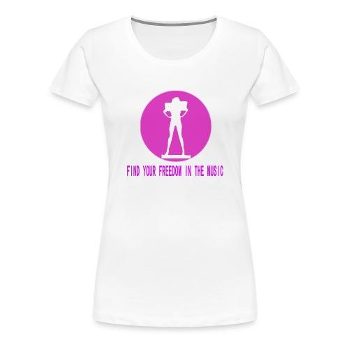 DANCE IN THE DARK unisex - Camiseta premium mujer