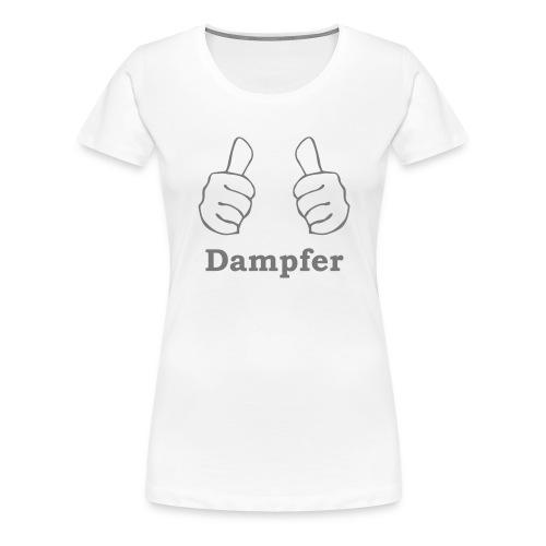 thumbs up Dampfen - Frauen Premium T-Shirt