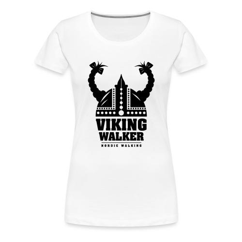 Nordic Walking - Lady Viking - Naisten premium t-paita
