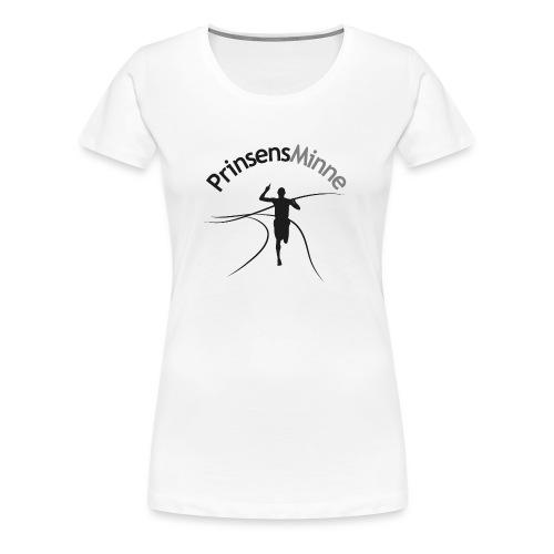 PrinsensMinne logga - Premium-T-shirt dam