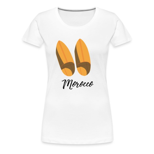 Moroccan traditional shoes - T-shirt Premium Femme