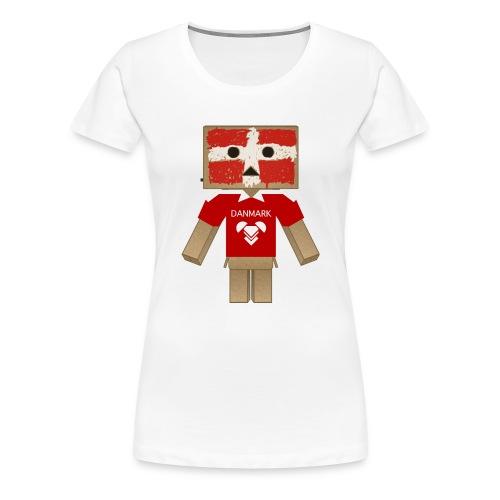 DANMARK EURO 2012 LIMITED - Dame premium T-shirt
