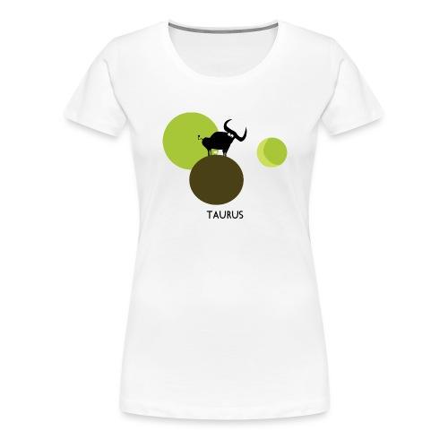 Unconventional zodiac :taurus - Maglietta Premium da donna