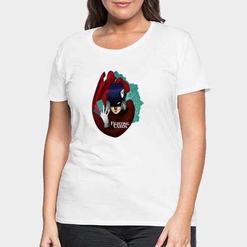 Fighting cards - Magicien - T-shirt Premium Femme