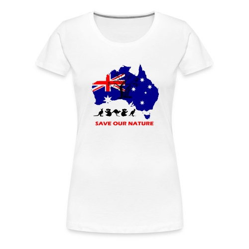 Australien - RETTE LEBEN - JETZT! - Frauen Premium T-Shirt