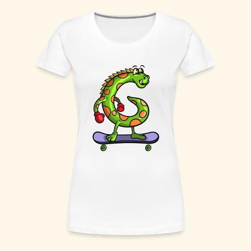gmonster v 3 0 - Vrouwen Premium T-shirt