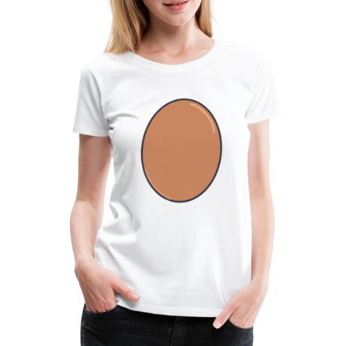 LIFE IS EGGCELLENT - Premium-T-shirt dam