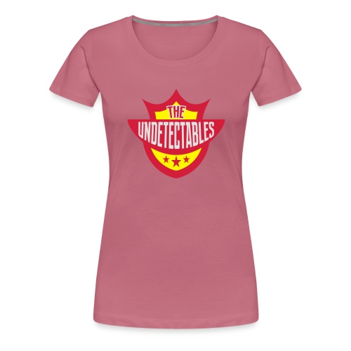 Undetectables voorkant - Vrouwen Premium T-shirt