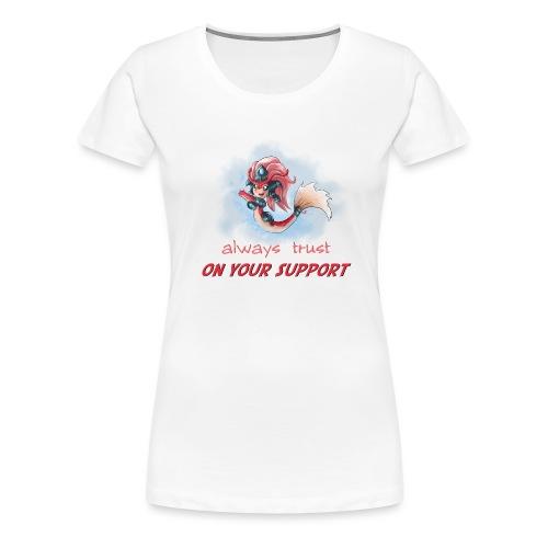 Chibi Nami Koi con scritta DONNA - Maglietta Premium da donna