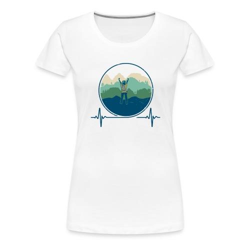Outdoorklettern - Frauen Premium T-Shirt