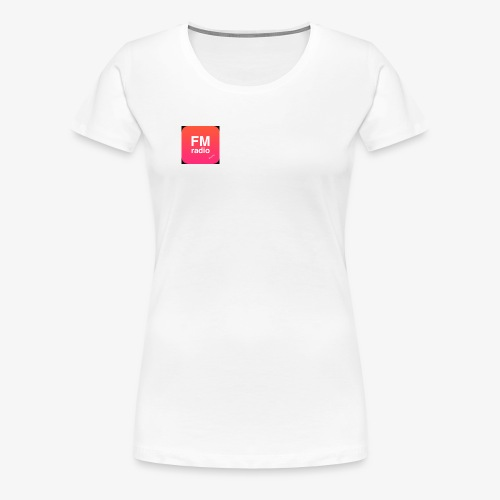 logo radiofm93 - Vrouwen Premium T-shirt