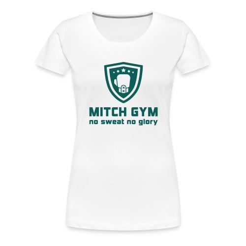 Logo_Mitch_Gym edit - Vrouwen Premium T-shirt