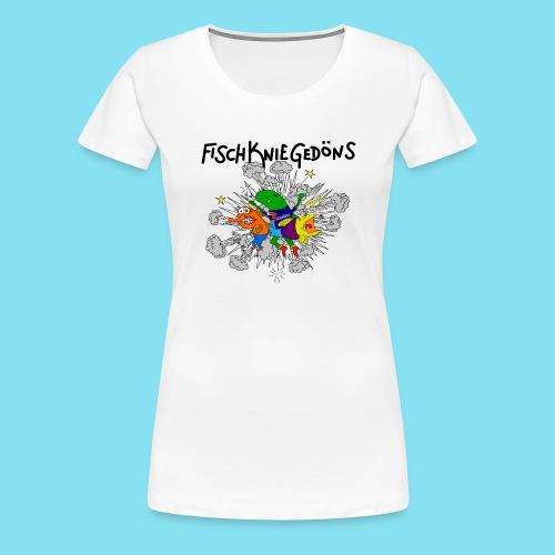 logoszschwarz png - Frauen Premium T-Shirt