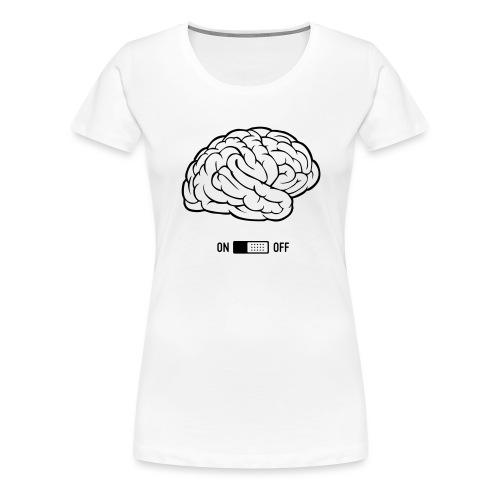 ON / OFF - T-shirt Premium Femme