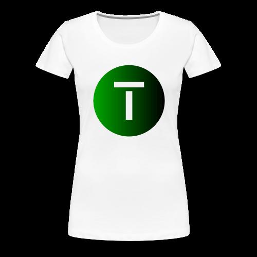Tech4You Dot 2019 - Frauen Premium T-Shirt