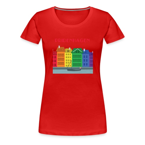 PRIDENHAGEN NYHAVN T-SHIRT - Dame premium T-shirt