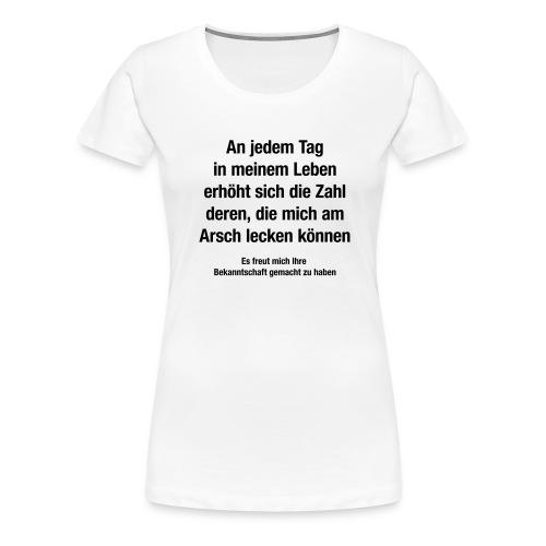 bekanntschaft - Frauen Premium T-Shirt