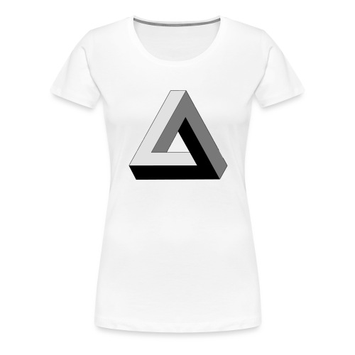 Penrose Dreieck - Frauen Premium T-Shirt