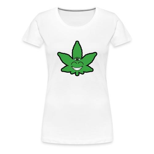 Weed Leave Eye - Vrouwen Premium T-shirt
