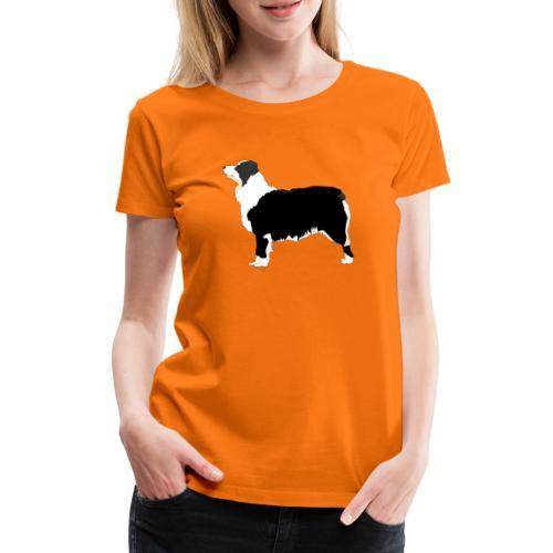 australian shepherd - Dame premium T-shirt