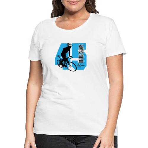 Wielersport - Vrouwen Premium T-shirt