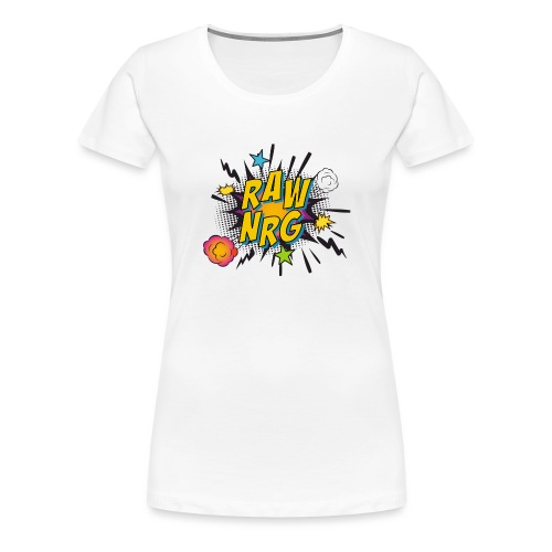 Raw Nrg comic 1 - Women's Premium T-Shirt