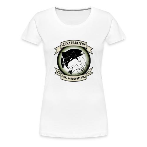 Järnatraktens Fiskevårdsförening - Premium-T-shirt dam