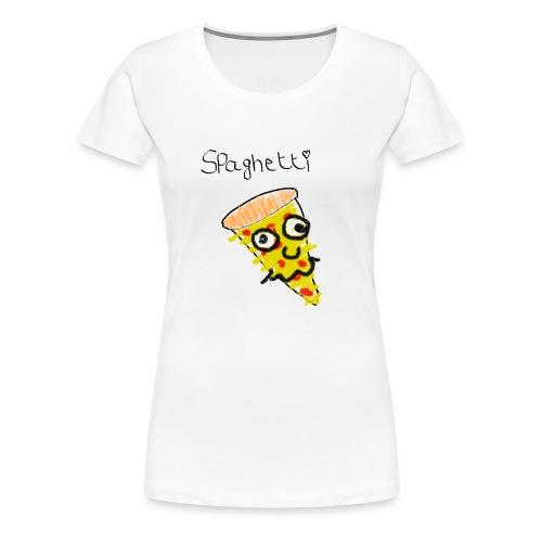 spaghetti - Vrouwen Premium T-shirt