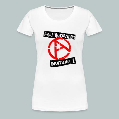 FINAL QUOTATION NUMBER 1 - Women's Premium T-Shirt