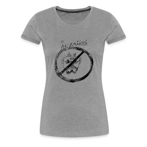 Mättää white - Premium-T-shirt dam