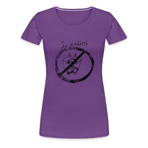 Mättää mugg - Premium-T-shirt dam